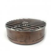 Round Copper Sterno Display 13.5