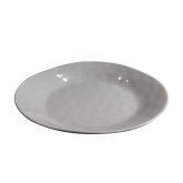 Cleo Grey Entree Plate 10.5