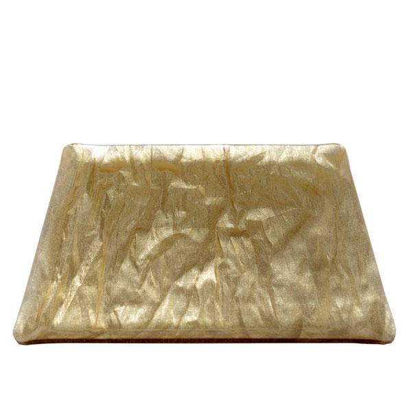 Vogue Tray Gold Foil 14.5