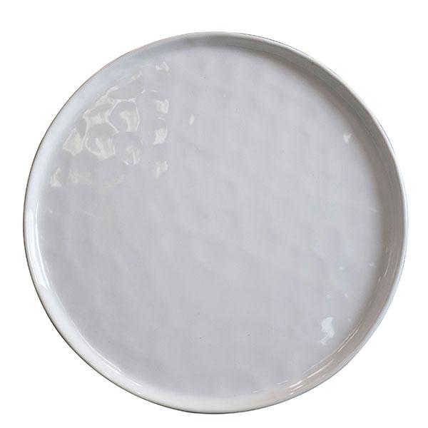 Cleo White Dinner Plate 11
