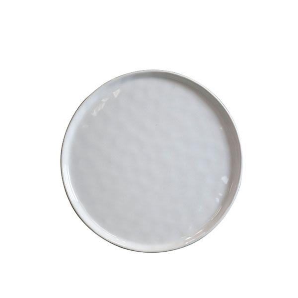 Cleo White Salad Plate 8.75