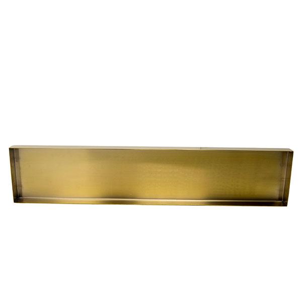 Edge Rectangle Gold Tray 20