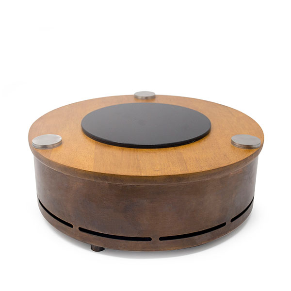 Round Copper Induction Display 13.5
